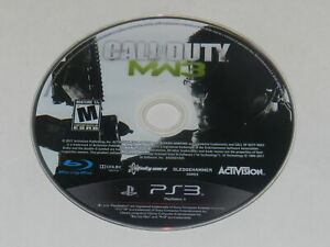 Call of Duty Modern Warfare 3 Playstation 3 PS3 Video Game Disc Only