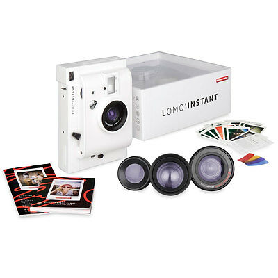 Lomography Lomo'Instant Camera + 3 Lenses - White