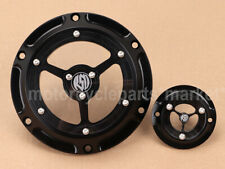 For Harley Sportster Iron XL883 XL1200 48 72 Derby /& Timing Timer Cover Black HL