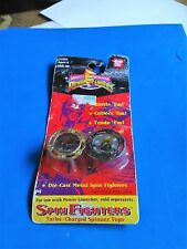 Power Rangers MIGHTY MORPHIN Spin Fighter Game TOPS