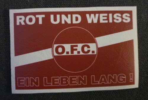 OFC Aufnäher Kutte Kickers Offenbach