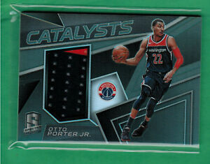 pretty nice 566ae fe897 Details about 2017-18 PANINI SPECTRA OTTO PORTER JR. JERSEY RELIC CATALYSTS  50/199 WIZARDS