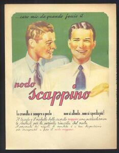 Pubblicita-originale-1942-Nodo-Scappino-cravatta-R