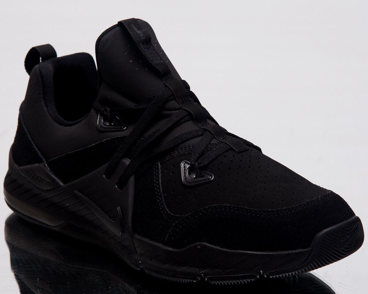 Nike Zoom traîne Comhommed Cuir hommes Baskets noir Baskets aa3984-006