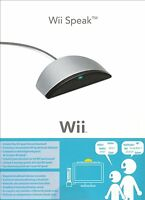 OFFICIAL Wii Speak NINTENDO WII NEW BOXED