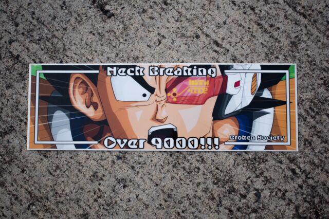 Dragon Ball Z Slap Sticker JDM CAR DECAL VINYL CAMBER STANCE WINDOW HONDA JAPAN