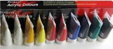 Seacryl/Fevicryl Artist's Acrylic Paint Set of 10 x 75ml Tubes : Quality & Value