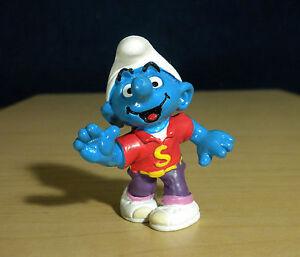 Smurfs-20444-Disco-Smurf-Dancer-Vintage-Figure-Rare-PVC-Figurine-Schleich-Peyo