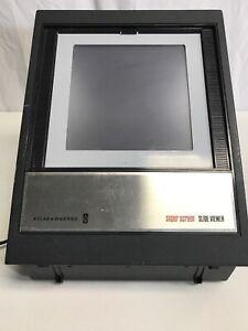Vintage-Antique1960-039-s-Atlas-Warner-Corp-AW-Super-Screen-Slide-Viewer-Model-66