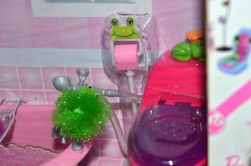 Barbie-Kleidung & -Accessoires Puppen & Zubehör NIB-RARE BARBIE GLAM FURNITURE PLAYSET & DOLL-KITCHEN-DAYBED-BATHTUB-VANITY+ACC