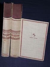 Marcel Proust: Die Herzogin von Guermantes. Üb. W. Benjamin u. F. Hessel. 1930.