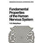 Fundamental Properties of the Human Nervous System by V. D. Nebylitsyn (Paperback, 2012)