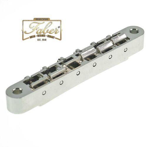 Faber ABRM-59-NG ABRM59NG ABR Bridge Nickel Gloss Metric for Asian guitar 3060-0