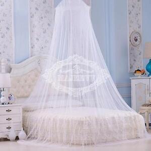 moustiquaire-Protection-d-039-insecte-de-mouche-filet-de-lit-Blanc-Ciel-de-Lit-01
