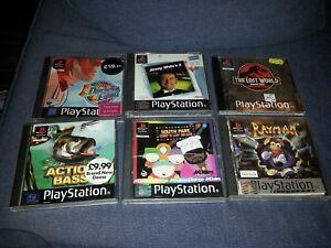 PS1 Playstation 1 job lot of 6 games