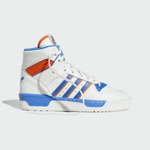 Details about Adidas Rivalry High Shoes Sneakers Blue White Man- show  original title