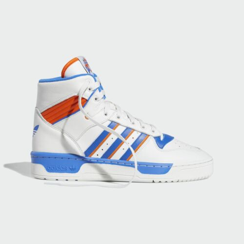 Homme Rivalry Sneakers High Chaussures Bleu Blanc Adidas WIR6qngR