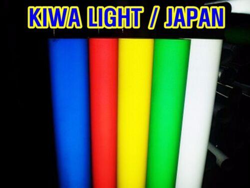 L:10ft//White Reflective Vinyl//Sheet//Film//KIWA//Japan//Tape//Adhesive//Truck//Size Cho