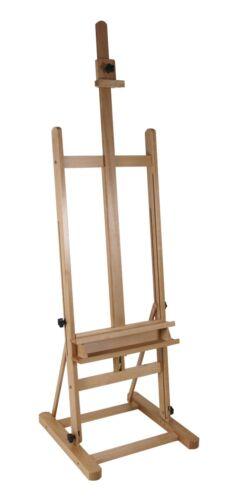 Keilrahmen bis 120cm Holz Profi Staffelei ARTA Studio-//Atelierstaffelei