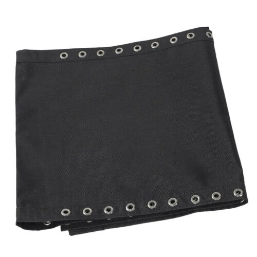 Recliner Black Replacement Cloth for Leisure Garden Beach Folding Sling Chairs
