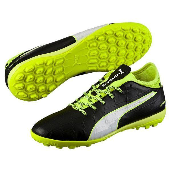 b912e9a8d23e PUMA Evotouch 3 TT Men's Football BOOTS Football Low Boot Male Black 45 for  sale online | eBay
