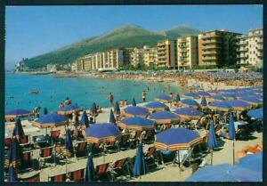 Dettagli su Savona Borghetto Santo Spirito Spiaggia FG cartolina MZ4876
