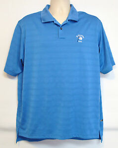 Adidas-Columbia-1898-Men-039-s-L-Blue-Golf-Shirt-Large-ClimaCool-Polo-Embroidered