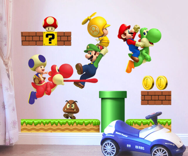 6900056   Wall Stickers Game Wall Decal for Kids Room