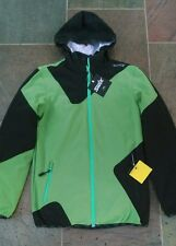 Swix Soft Shell & Down Jacket 3 in 1 Men's M Medium Green Ski Snowboard NEW $250
