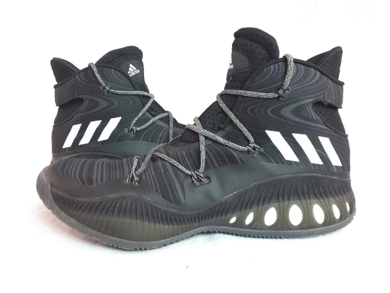 adidas fou fou fou explosif basket haut noir chaussures baskets b42421 sz 17   Outlet Store En Ligne  265adb