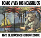 Donde Viven Los Monstruos (Where the Wild Things Are) by Maurice Sendak (Hardback, 1996)