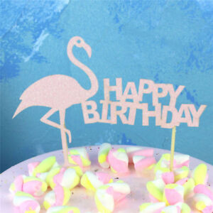 flamingo-034-happy-birthday-034-cake-cup-toppers-birthday-decor-kids-party-supp-HEP