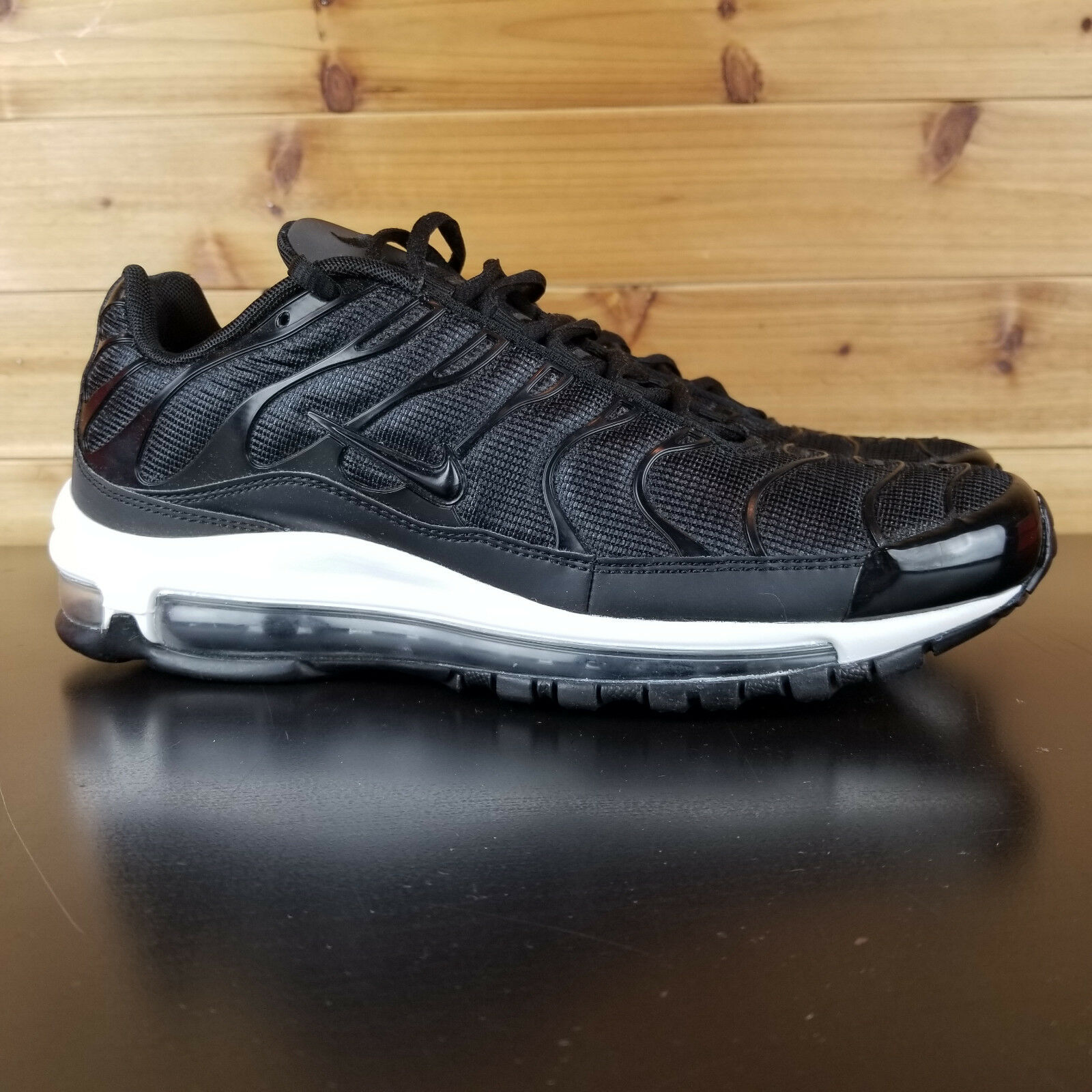 Nike Air Max Plus 97 Hybrid AH8144 001 Black Anthracite