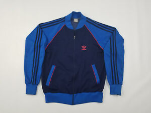 best sneakers 6d1dc c4e07 Image is loading Adidas-Track-Jacket-Men-039-s-Large-Vintage-