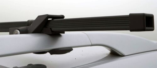 Locking Roof Rack Cross Bars fits Cars with Rails Universal Fit