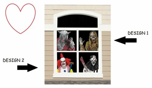 Window Decal Party Halloween Decoration Stickers Decor Spooky