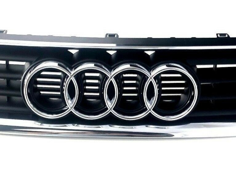 New Genuine A3 S3 Front Center Grill Assembly Black