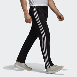Details about Adidas Men Pants Running Essential 3 Stripes Fashion Training  Gym Black BK7446