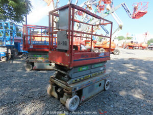 2010-Skyjack-SJ-3219-Electric-Scissor-Lift-Man-Aerial-Platform-Parts-Repair