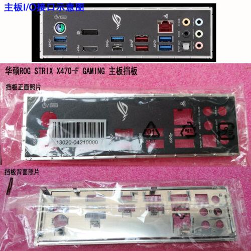 Original IO I//O Shield Back Plate Bracket for ASUS ROG STRIX X470-F GAMING