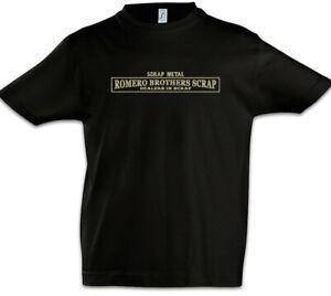Romero-Brothers-Scrap-Kinder-Jungen-T-Shirt-Mayans-Firmenlogo-Schrottplatz-Logo