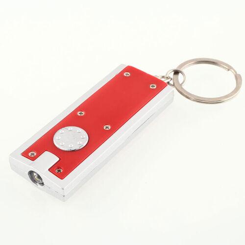 Mini Ultra Bright LED Camping Flashlight Torch Keyrings Portable KeyChains Hot