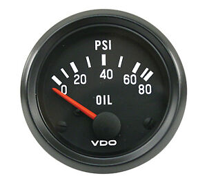 details about vdo oil tempature gauge 300 degree 2 1/16