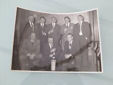 Football Anderlecht RSCA ancienne photographie Vandenstock - Mettens - Staff