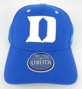 DUKE-BLUE-DEVILS-ROYAL-NCAA-FLEX-FIT-STRETCH-ZH-CAP-HAT-ADULT-Z-FIT-SIZES-NWT