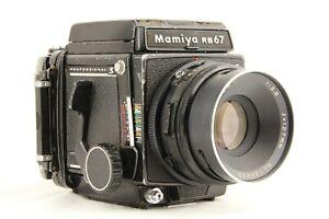 Eccellente ++++ Mamiya RB67 Pro S + SEKOR C 127mm f/3.8 + 120 Film Retro dal Giappone