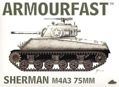 Armourfast 1//72 M4A3 75mm Sherman # 99014