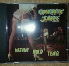 FREE SHIPPING! Concrete Jungle - Wear and Tear CD hair metal glam INDIE SLEAZE