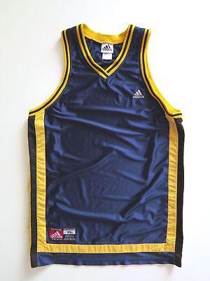 adidas Performance Teamwear Vintage Retro Men's Basketball Jersey Size XL Fits L | eBay