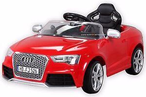 kinder elektroauto kinderauto audi rs5 lizenziert 2x motor. Black Bedroom Furniture Sets. Home Design Ideas